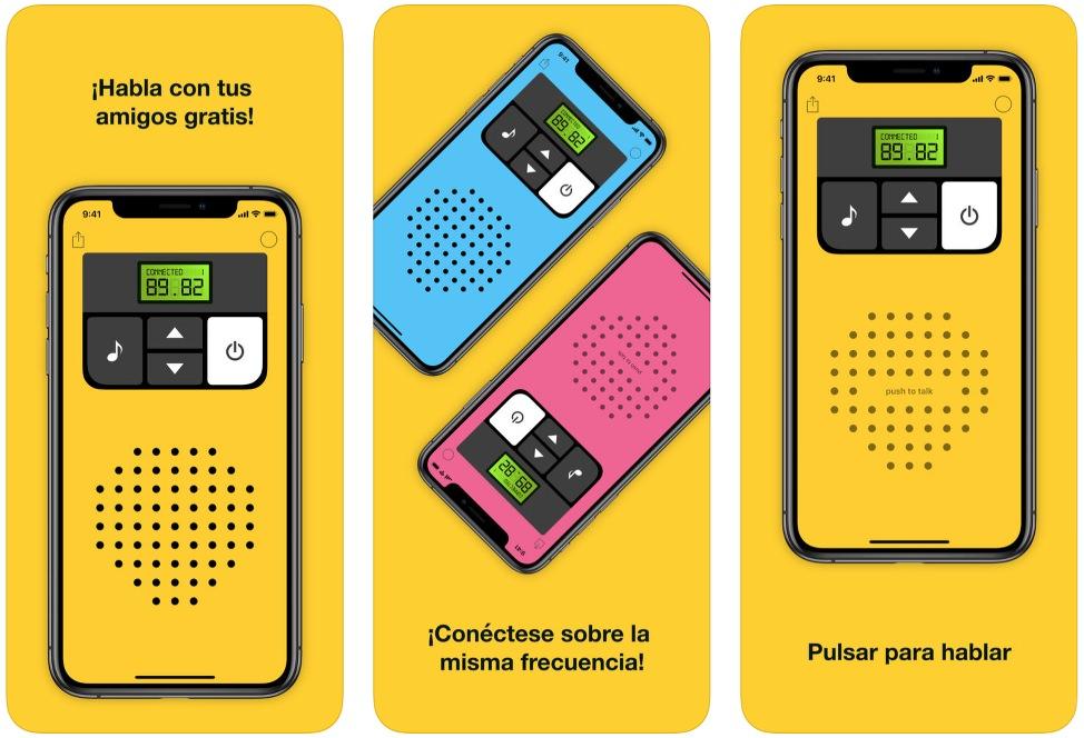 App Walkie-Talkie para iOS