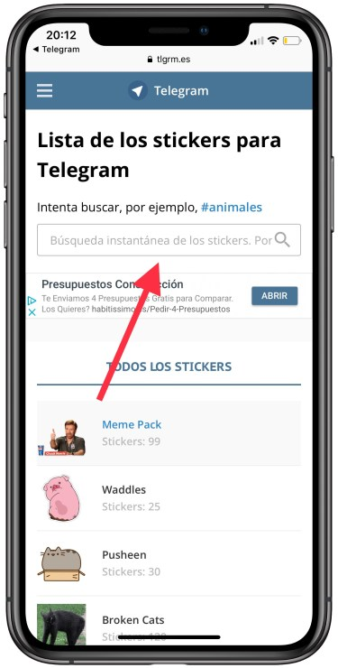 stickers de Telegram en WhatsApp 1