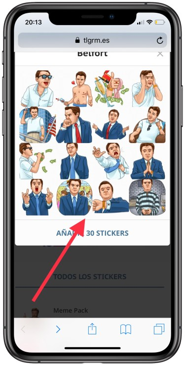 stickers de Telegram en WhatsApp 2