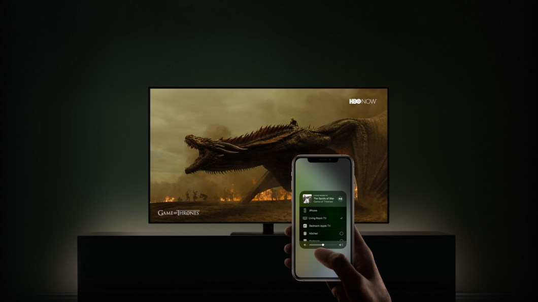 AirPlay 2 compatible con televisiones