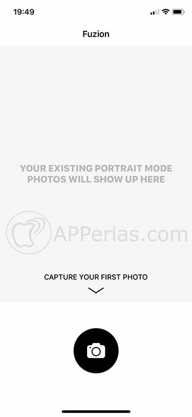 aplicación de edición fotográfica para iOS fuzion 2