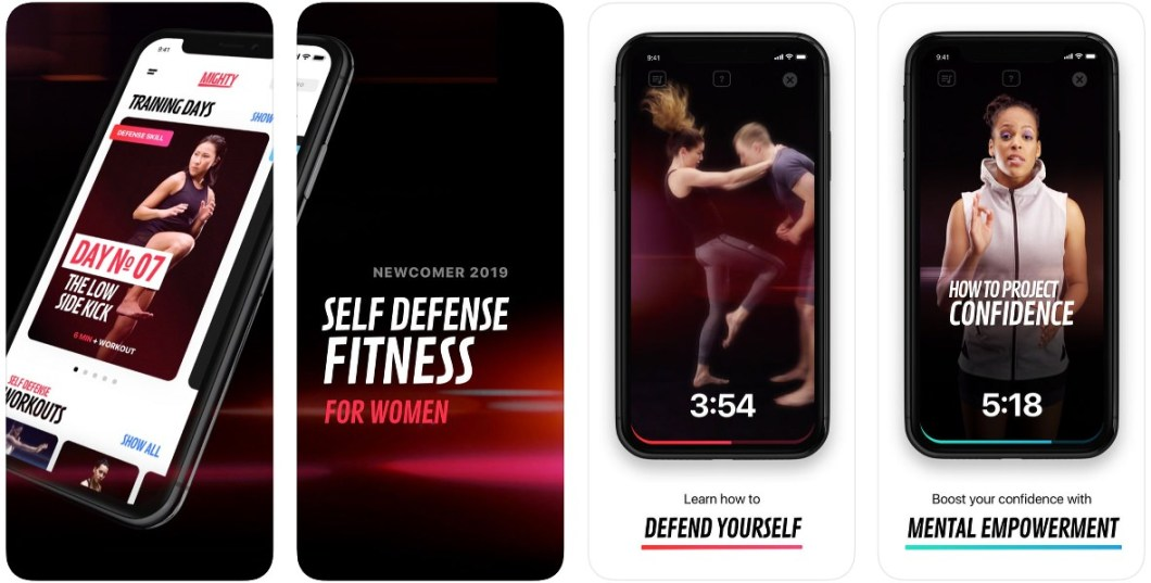 App de autodefensa personal