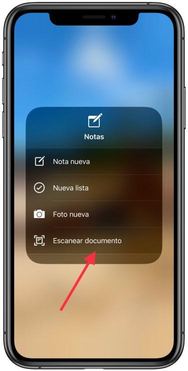 escanear un documento con el iPhone 2