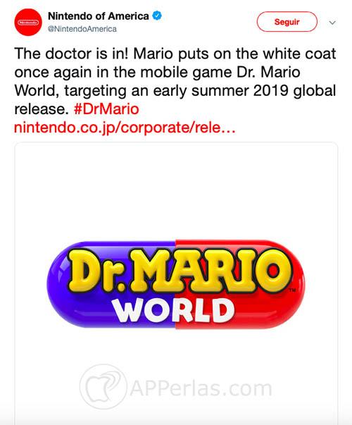 Dr. Mario World juego ios nintendo 2