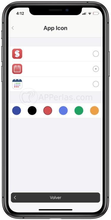 Configura el icono app a tu antojo