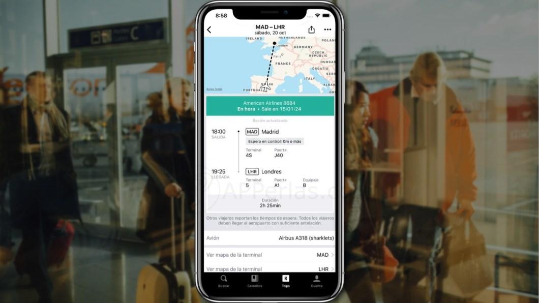 Apps para buscar vuelos baratos desde iPhone y iPad