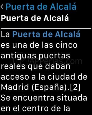 Información sobre la Puerta de Alcalá