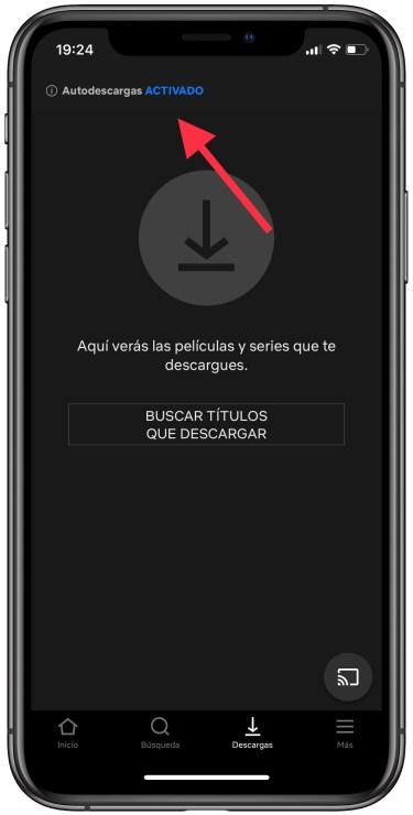 descargas automáticas de Netflix 1