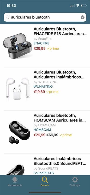 trackava rastreador de precios para amazon ios iphone 1