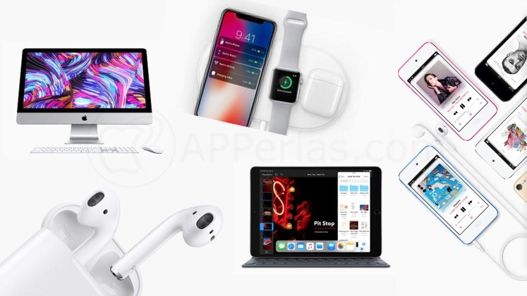 Nuevos productos Apple 2019
