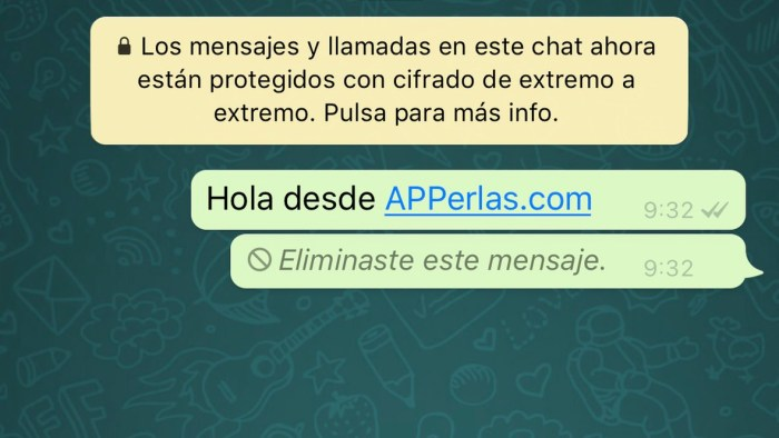 eliminar whatsapp antiguo