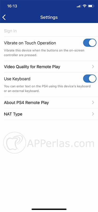 ps4 remote play playstation ios iphone ipad 2