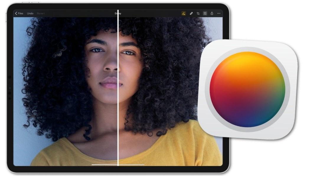 Editor de fotos para iPad Pixelmator Photo