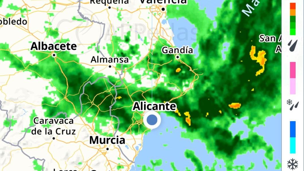 Radar de Lluvia para iPhone