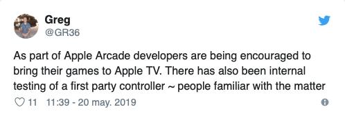 mando para videojuegos de apple 1