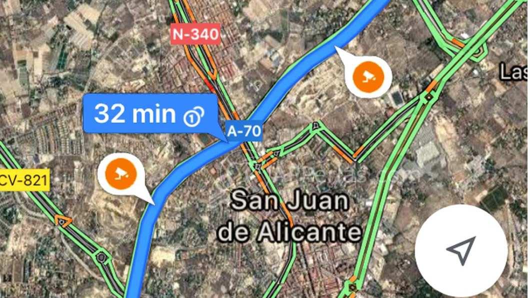 Iconos de radares en Google Maps