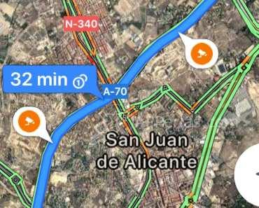 Ya se muestran los radares en Google Maps y, también, los límites de velocidad