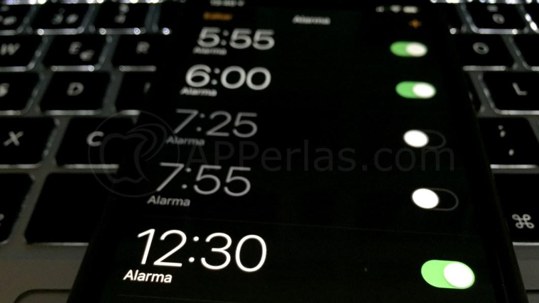 Pon una canción en la alarma del iPhone