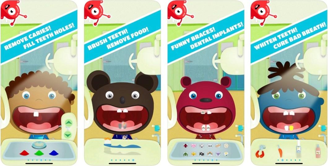Juego de dentistas para niños