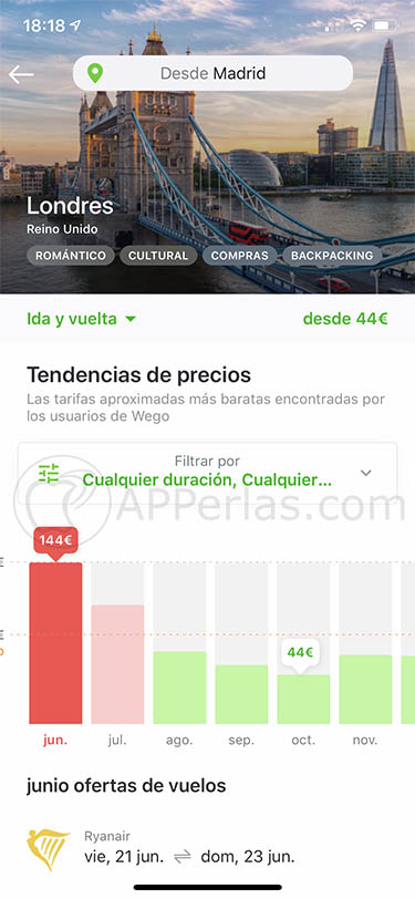 app para buscar viajes wego 3