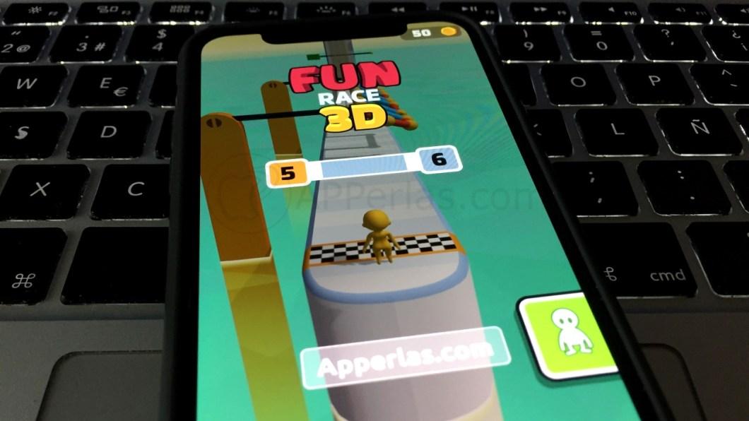 Tienes que ser el más rápido en Fun Race 3D