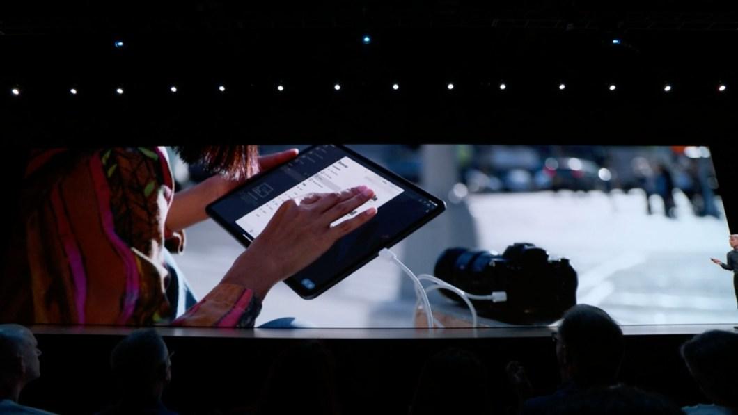 Podremos conectar dispositivos externos al iPad