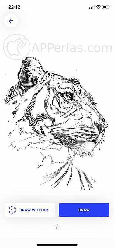App para dibujar y aprender a dibujar ios iphone ipad sketch ar 3