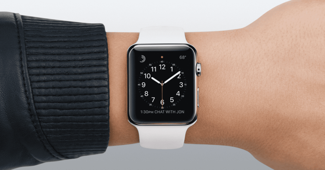punto rojo del Apple Watch