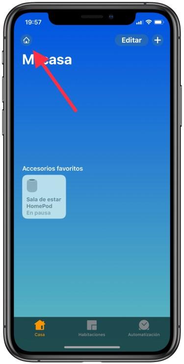 actualizar el HomePod 1