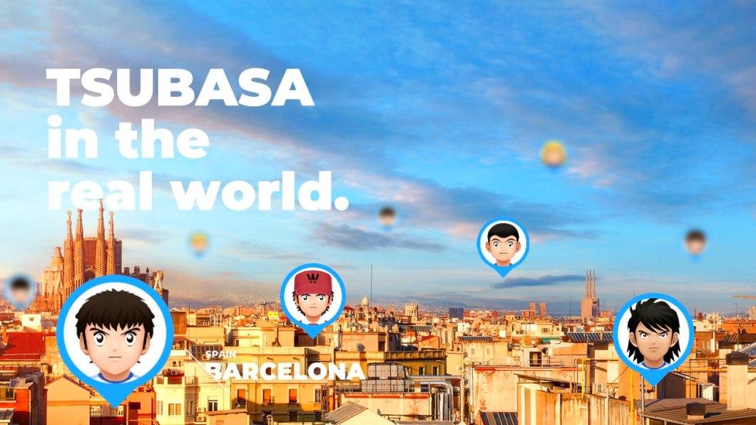 Tsubasa, el juego de Oliver y Benji en AR