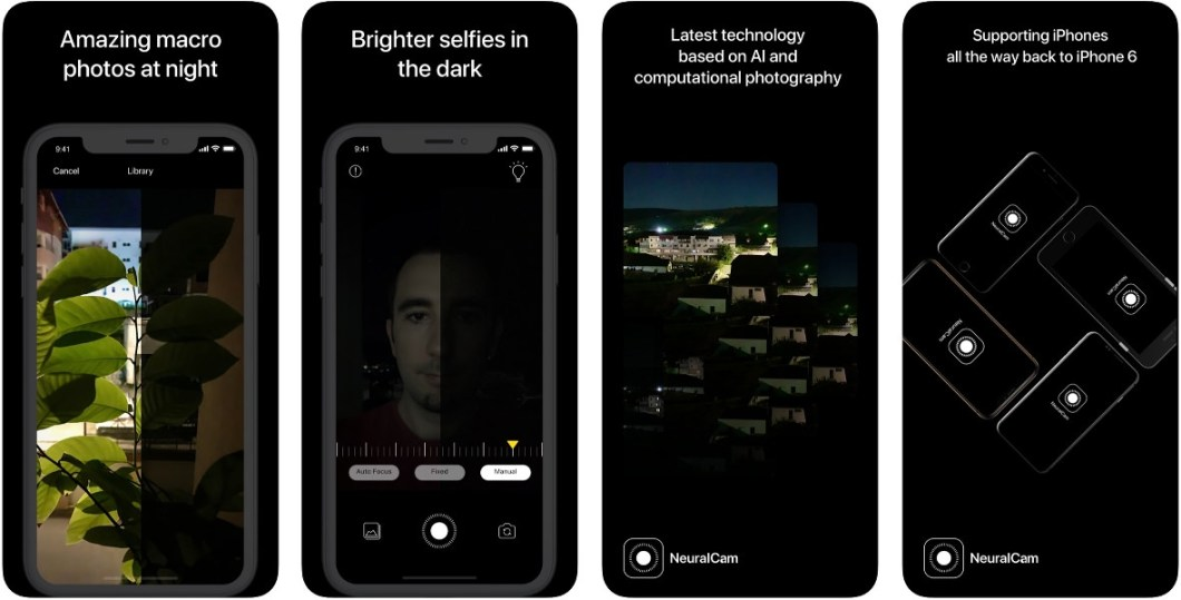 App de fotografía NeuralCam