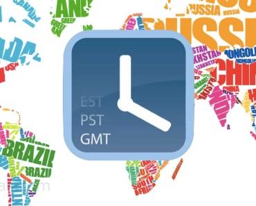 Esta app de zonas horarias es una de las más sencillas de utilizar