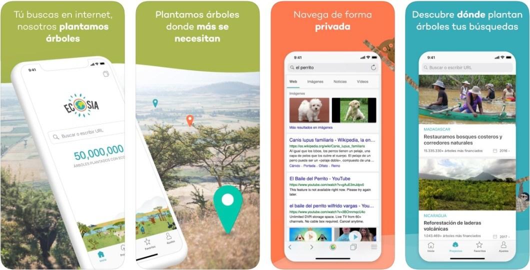 App Ecosia para iOS