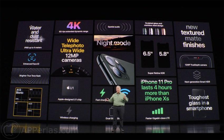 Estas son las características del iPhone 11 Pro Pro Max que lo diferencian del 11 3