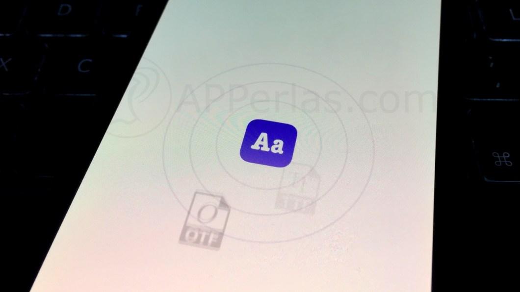 Fonty, la app para descargar tipos de letra en iOS
