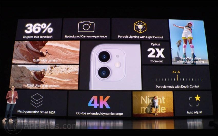 novedades del iPhone 11 ios ipad keynote 2019 septiembre 3