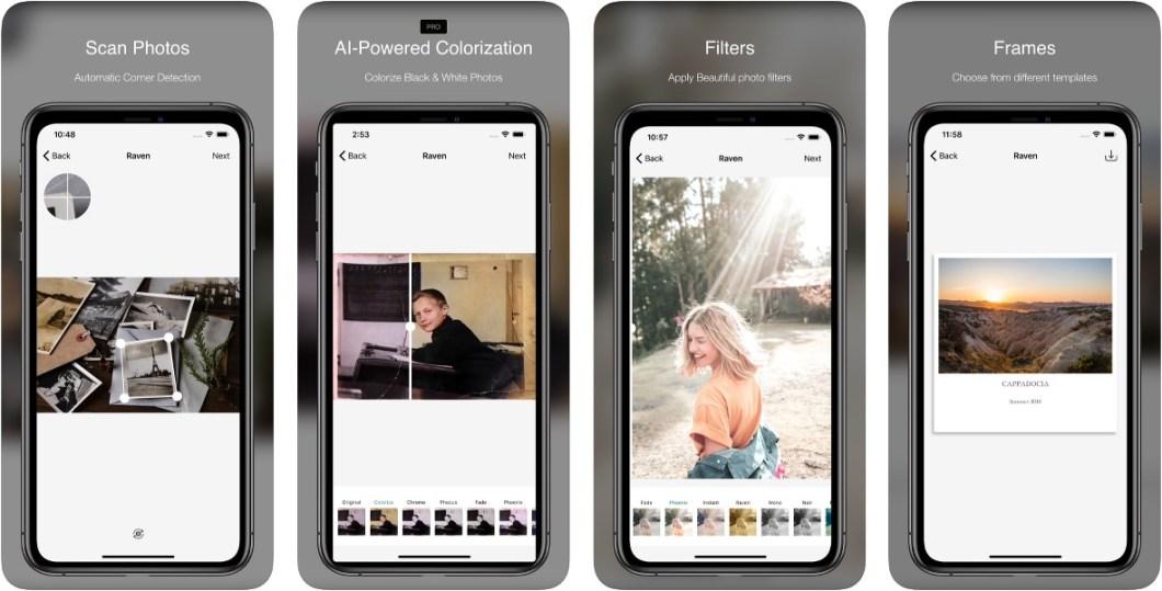 App Raven para iOS