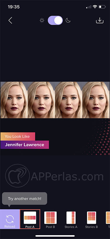 Esta es la app que te dice a que famoso te pareces gradient 3