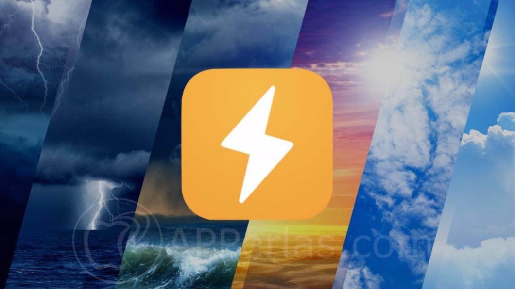 Esta es una buena y precisa app del tiempo para iOS weather line 1