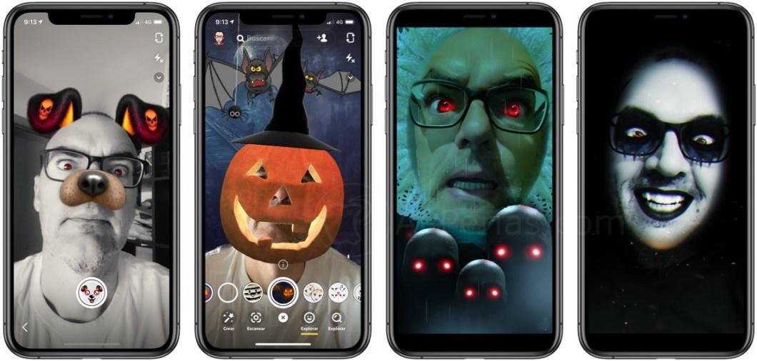 Filtros de Snapchat para Halloween 2019