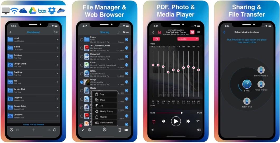 App de almacenamiento y gestión de archivos