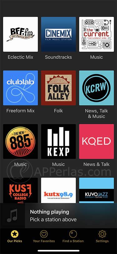 Escucha la radio con esta app de radio online para iOS triode 22