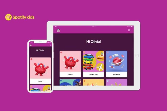 Spotify kids app ios iphone 4