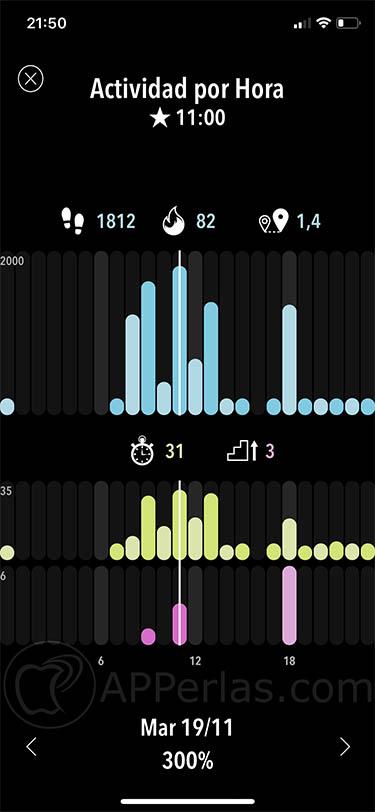 app de actividad estadisticas ejercicio deporte activitytracker activity tracker 3