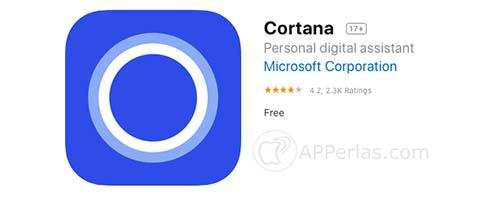 cortana eliminada app store ios iphone ipad 2