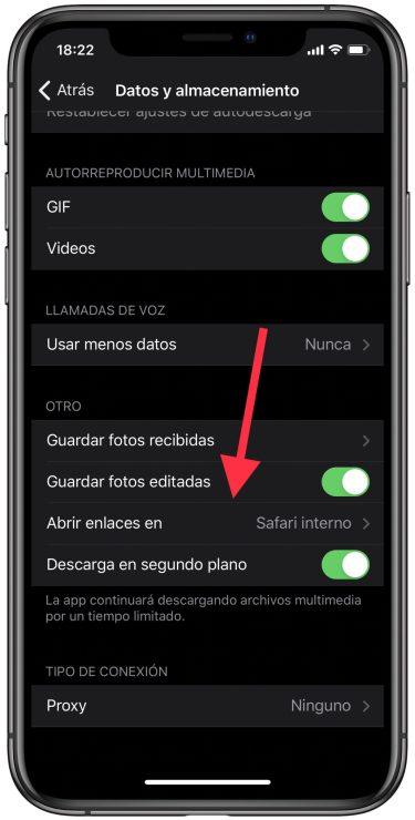 navegador de Telegram 1
