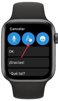 escribir más rápido con el Apple Watch 1