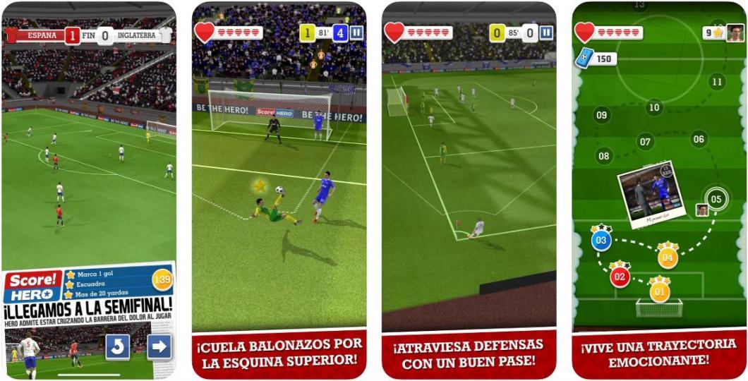 Divertidísimo juego de fútbol para iPhone