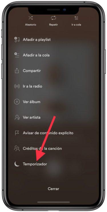 temporizador de Spotify 2