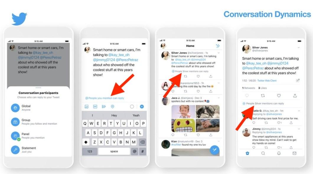 Configura quien puede contestar tus tweets